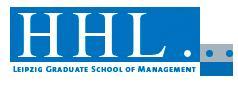 HHL - LEIPZIG GRADUATE SCHOOL OF MANAGEMENT